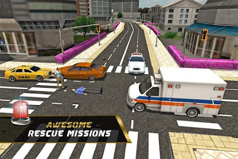 City Ambulance: Rescue 2016 screenshot