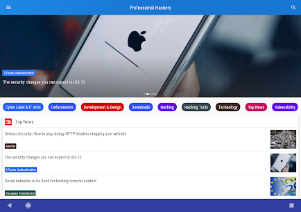 Professional Hackers – Hacking & Technology News App Latest Version  Download For Android 10