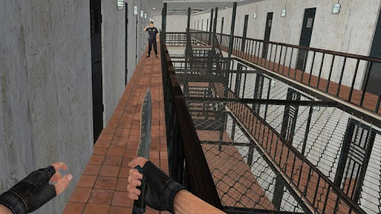ApkMod1.Com American Jail Break Block Strike Survival Games + (Free Shopping) for Android Action Game