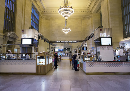 Great Northern Food Hall first look: great northern food hall opens in grand central