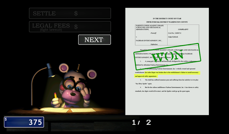 FNaF 6: Pizzeria Simulator Screenshot 15