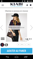 Screenshot of KIABI la mode à petits prix