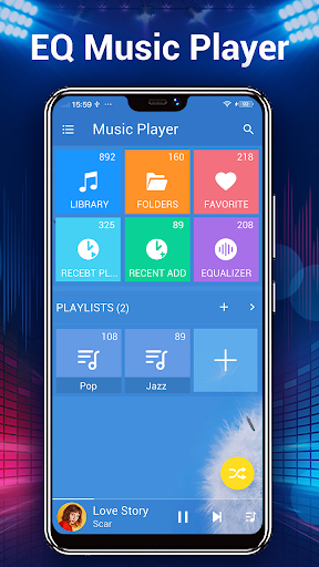 Music Player - Audio Player screenshot 2