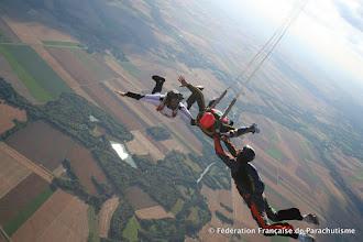 Photo: Ouverture du parachute, Saut Pac