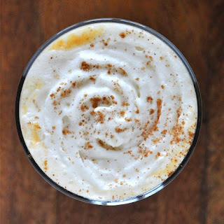 Boozy Pumpkin White Hot Chocolate {Two Ways}