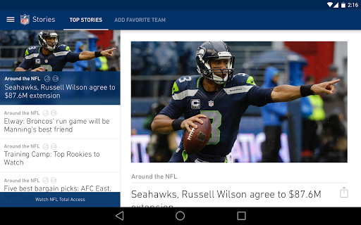 NFL screenshot 7