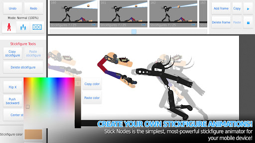 Stick Nodes: Stickman Animator 2.6.4 screenshots 1