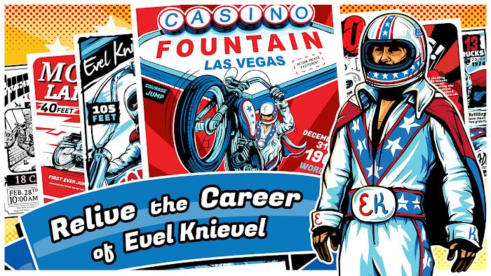 Evel Knievel- screenshot