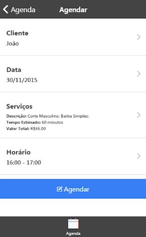 android Agenda Aqui! Profissional Screenshot 4