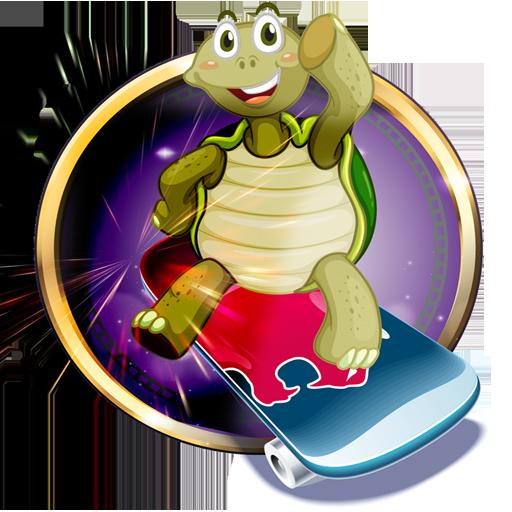 Turtle Skateboarding