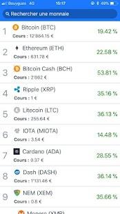 Cours crypto-monnaies - náhled