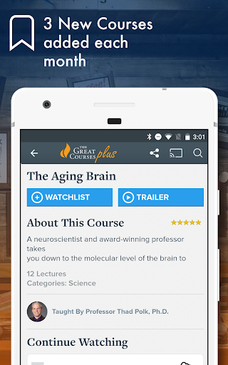 The Great Courses Plus - Online Learning Videos screenshot