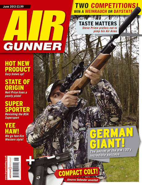 Photo: Get 13 issues of Air Gunner magazine for just £25.35! Saving you a whopping 50% on the shop price… go to www.subscriptionsave.co.uk/PAG0812A or call us on 0844 8484237 to subscribe today.