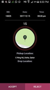 QatarTaxi Partner- screenshot thumbnail
