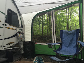 Photo: Boondocking in the Hoosier National Forest
