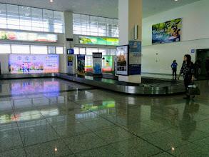 Photo: Empty Iloilo International Airport.