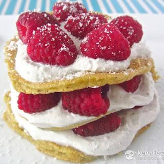 Raspberry & Vanilla Pancakes