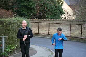 Photo: Carsten og Ulrik på vej i mål