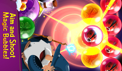 Bubble Shooter: Bubble Wizard, match 3 bubble game 1.19 screenshots 8