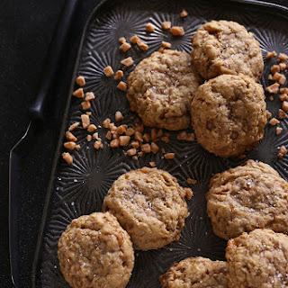 Salted Oatmeal Toffee Cookies.