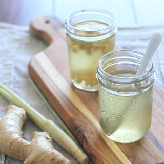 Ginger and Lemongrass Syrup.