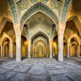 Vakil Mosque by Mohammad Reza Domiri Ganji - Buildings & Architecture Places of Worship ( iran, mosque, shiraz )