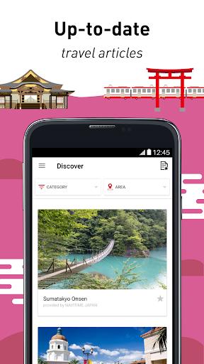 Japan Official Travel App 2.3.13 screenshots 2