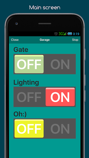 RemoteXY: Arduino control PRO screenshot 4