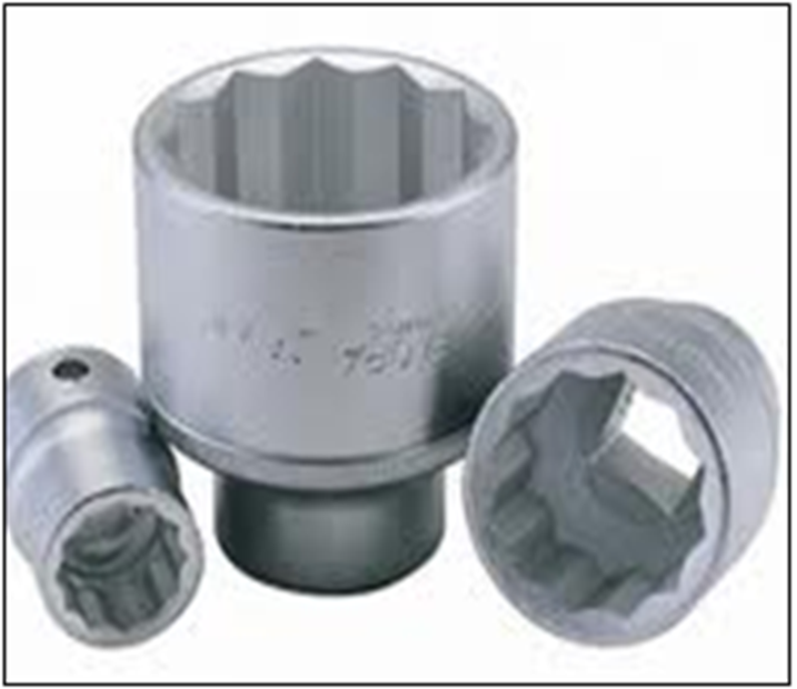 Vanadium Steel Sockets