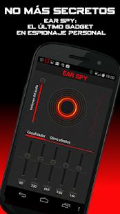Ear Spy (Oído Espía): miniatura de captura de pantalla
