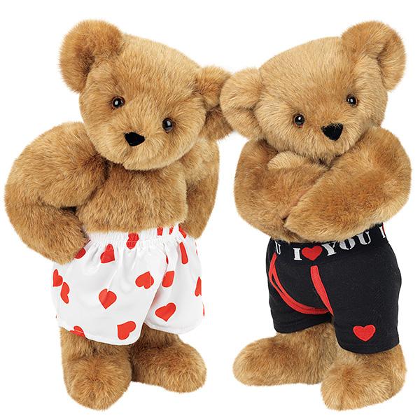 Photo: Heart Throb & Huggable Hunk Bears