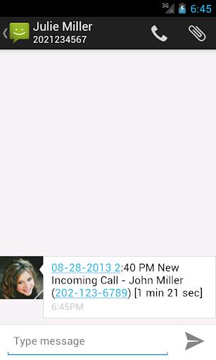 Call Messenger Lite 1.0.0 screenshots 3