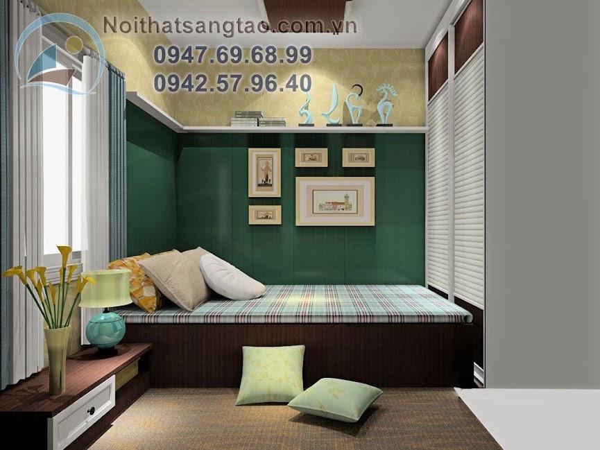 thiết kế phòng ngủ chung cư nhỏ