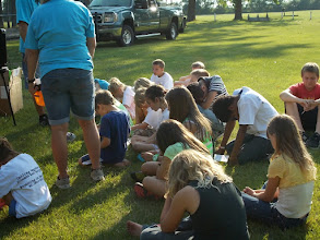 Photo: At the Michigan City Park. A celebration of finding Jesus' lost sheep! http://www.TimeToRevive.com and http://www.ChurchinND.com