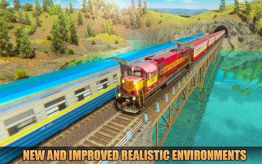 Indian Train Racing Simulator Pro: Train game 2019 image | 2