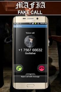 mafia fake call - náhled