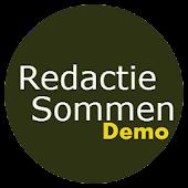 Redactiesommen Demo