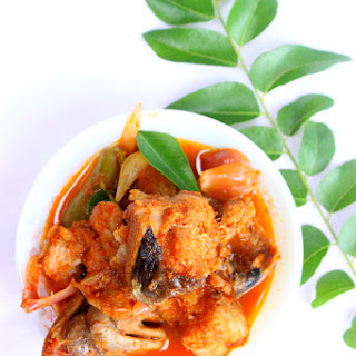 Dad's Fish Head Curry for piping hot rice in 3 Easy Steps for a busy Weekday