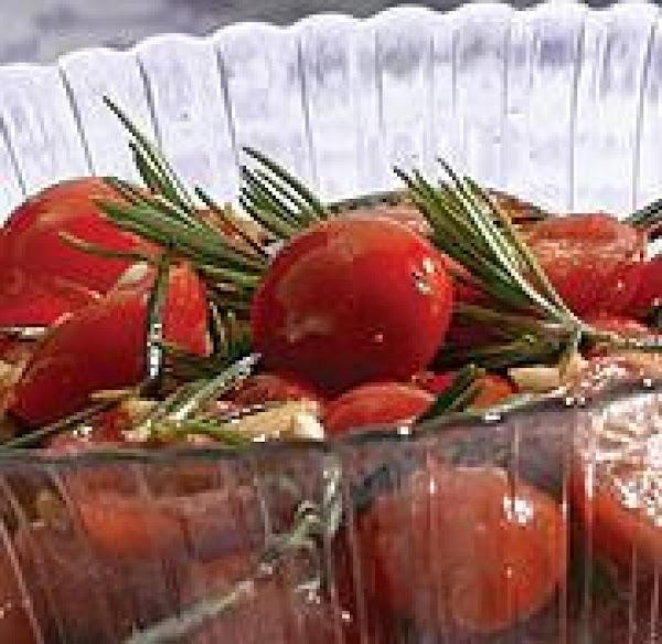 Warm Cherry Tomato Salad Recipe