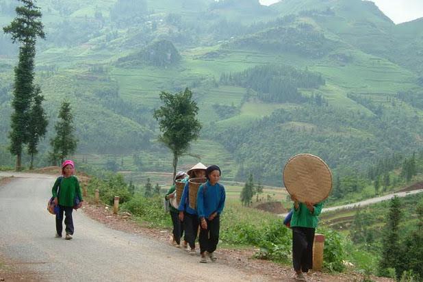 Hiking in Nghia Lo