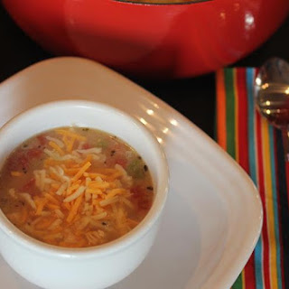 King Ranch Chicken Soup {Cooking Through My Collection}
