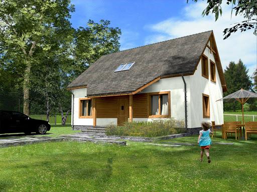 projekt Zosia Drewniany Termo