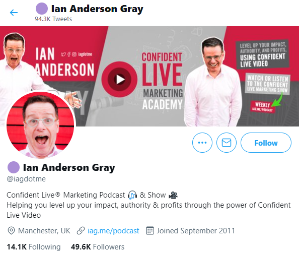 Twitter bio ideas - talk about your products in your bio