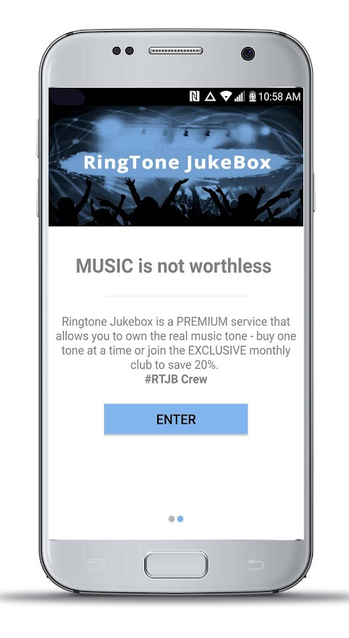RingTone JukeBox- screenshot