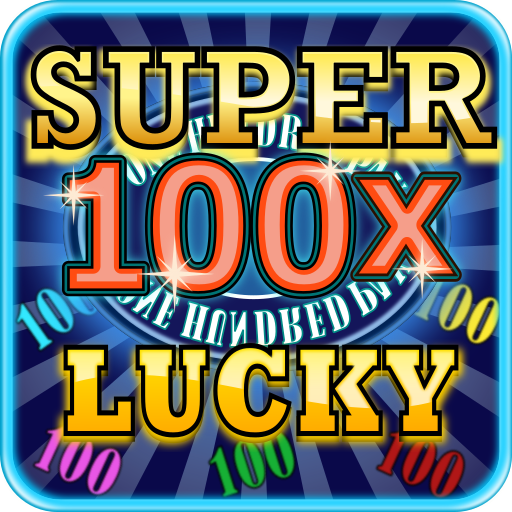 100x 超級幸運老虎機 博奕 LOGO-玩APPs