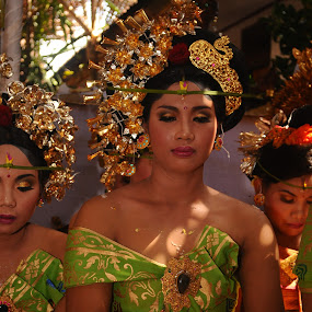Balinese Girl  by Thomas Chedang - People Portraits of Women