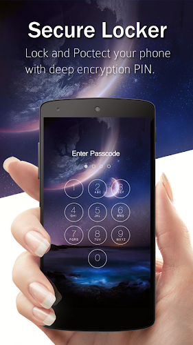 Keypad Lock Screen Android App Screenshot