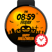 Happy Halloween watchface by Jake36