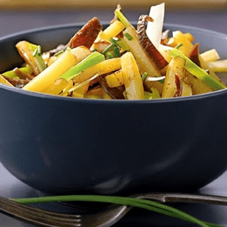 Sweet And Sour Fried Potatoes
