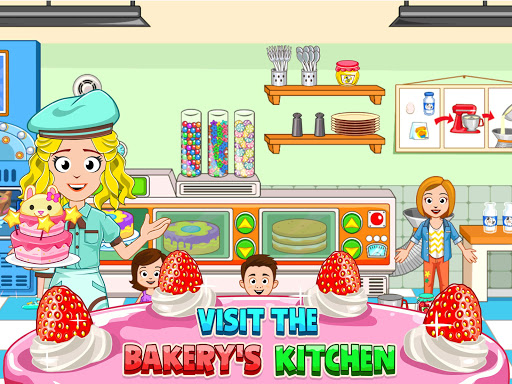 My Town : Bakery & Cooking Kids Game android2mod screenshots 9